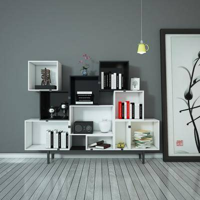 装饰柜, 陈设品, 摆件, 现代, 摆设
