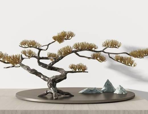 景观小品, 摆件组合, 装饰品, 植物