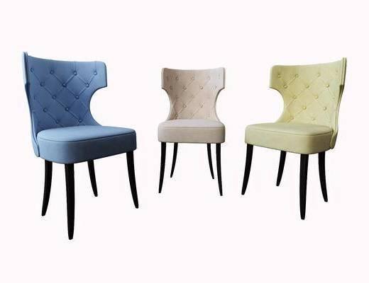 餐椅, 单人椅, 美式