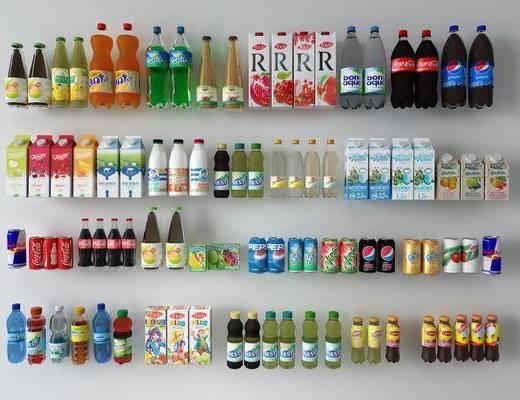 饮料, 酒水, 汽水