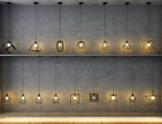 灯, 吊灯, 工业风吊灯, 餐厅吊灯