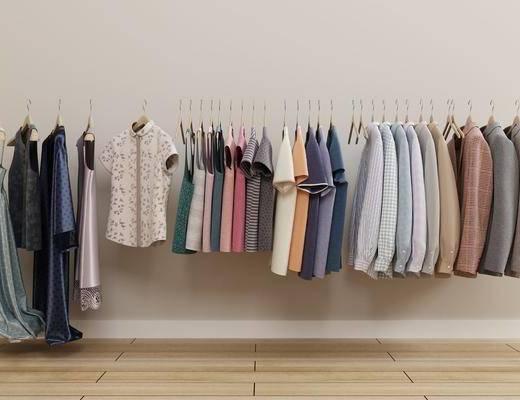 连衣裙, 衣架, 服饰, 现代