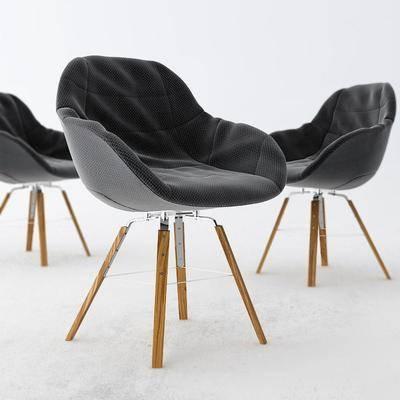 现代布艺休闲椅餐椅单椅, 现代, 椅子, 单椅, 餐椅, 休闲椅