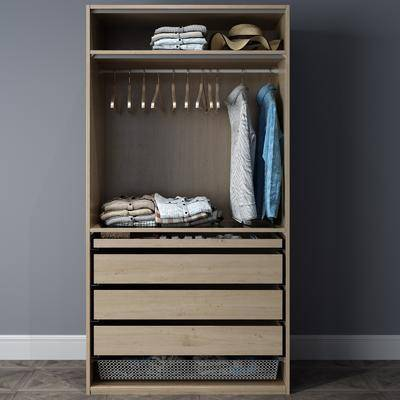 衣柜服飾, 現代