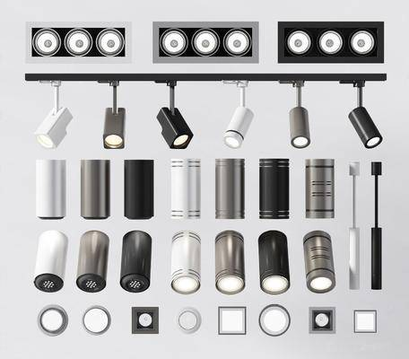 现代, 筒灯, 射灯