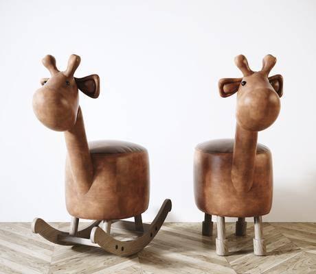摇椅, 玩具, 矮凳