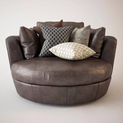 现代沙发, 抱枕, 沙发, 现代