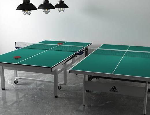 乒乓球桌, 体育器材, 现代