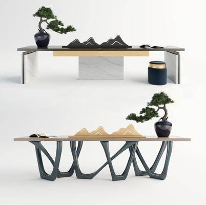 现代, 餐桌, 书桌