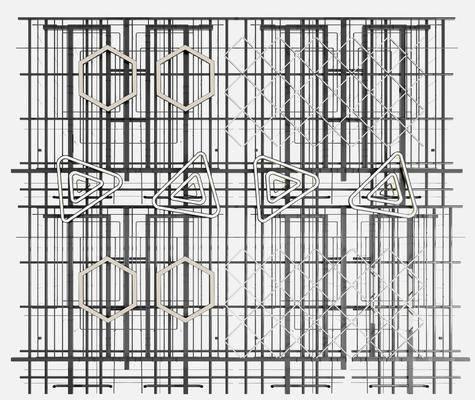管道吊顶, 天花管道, 管道吊灯, 消防管道组合, 工业风