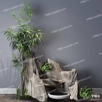 景观小品, 植物, 装饰品