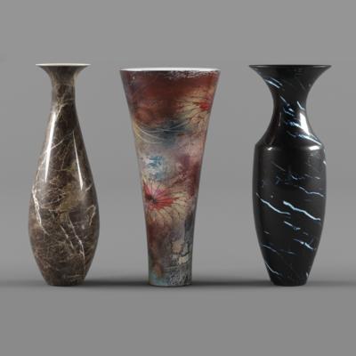 中式, 新中式, 花瓶, 瓷器, 器皿