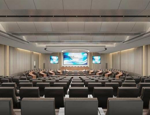報告廳, 會議室
