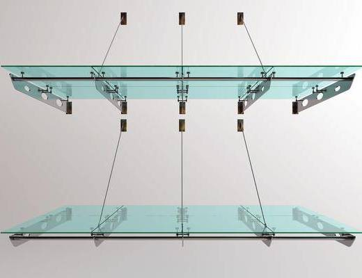 遮雨棚, 玻璃棚