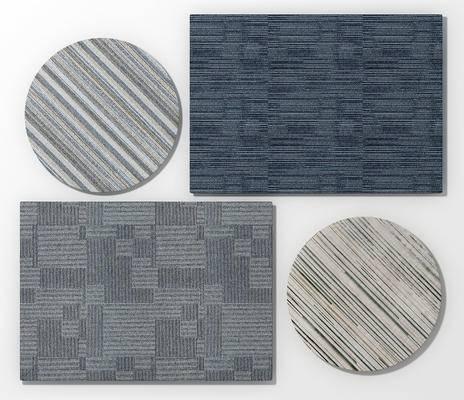 现代办公地毯组合