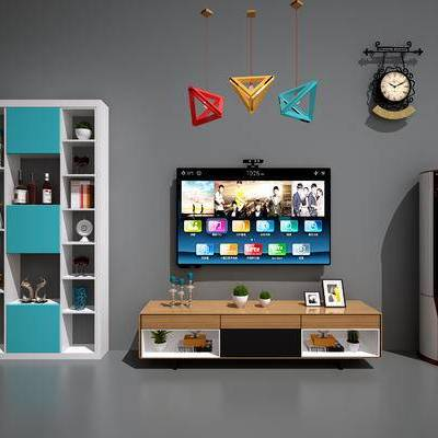现代电视柜, 北欧电视柜, 现代吊灯, 北欧吊灯, 现代书柜, 北欧书柜, 现代书架, 北欧书架, 空调, 吊钟, 现代, 电视, 立式空调, 置物柜, 装饰柜, 书柜