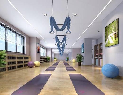現代瑜伽房, 瑜伽房