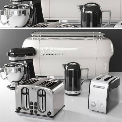 电器, 咖啡壶, 咖啡机, 搅拌机, 茶壶组合