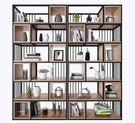 装饰柜, 置物架, 书架, 柜体