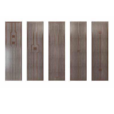 衣柜门板, 隔断, 新中式