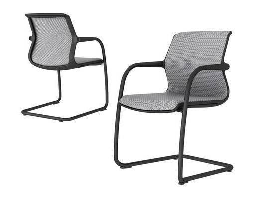 现代, 简约, 办公椅, 单椅