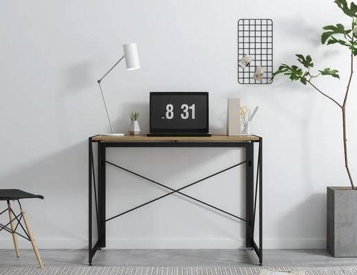 北欧, 书桌椅, 组合