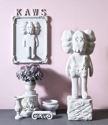摆件组合, 装饰, 雕刻, 雕塑