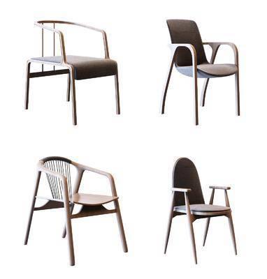 现代椅子, 椅子, 单椅, 北欧椅子