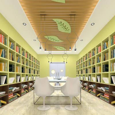 圖書館, 桌椅組合