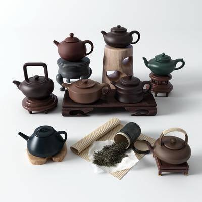 茶壶, 茶叶, 茶具