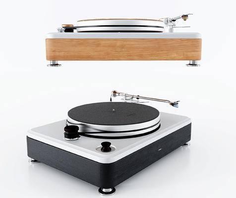 现代唱片留声机
