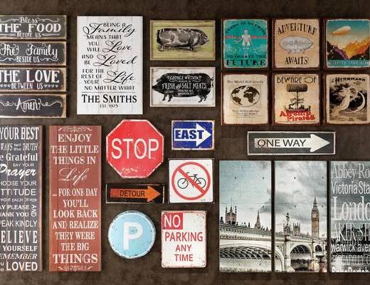 指示牌, 标识, 标志