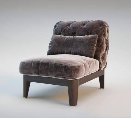 休闲椅, 单椅, 单人沙发, 沙发, 现代