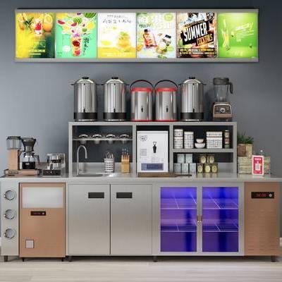 饮料机, 饮品机, 洗手盆, 咖啡壶, 现代