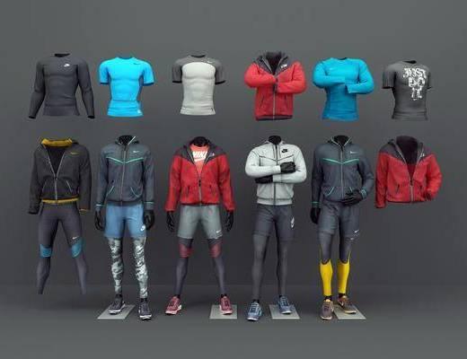 耐克运动服, 服饰, 现代