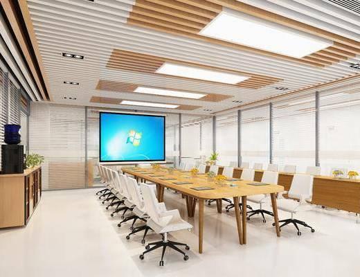 會議室, 現代會議室, 辦公桌