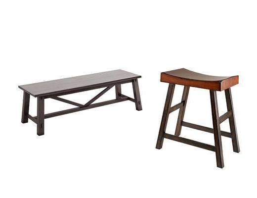 新中式, 凳子, 单体