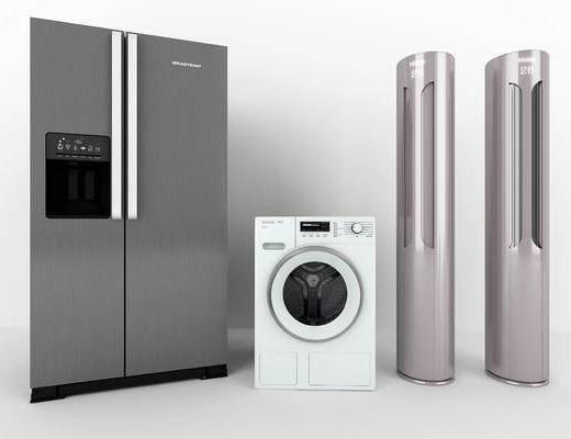 洗衣机, 电器, 空调, 家用冰箱