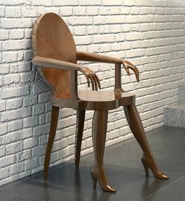 休闲椅, 单人椅, 个性椅子, 人物椅子, 实木椅子, 懒人椅子