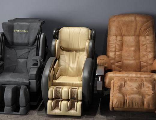 按摩椅组合, 现代
