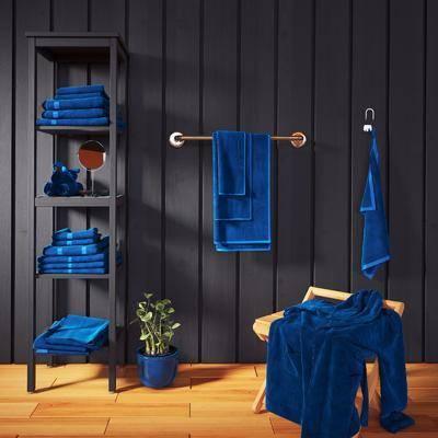 浴室柜架, 毛巾, 浴袍, 现代