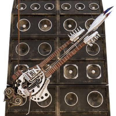 吉他, 乐器, 音箱, 音响
