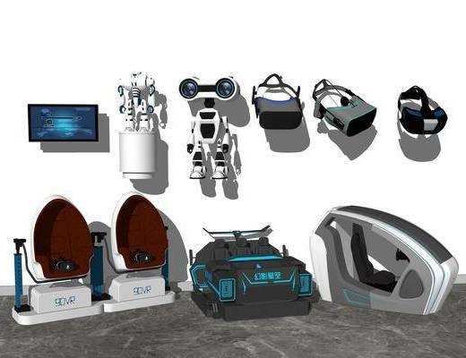 游戏设备, 眼镜, 座椅