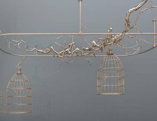 吊灯, 金属吊灯, 现代金属吊灯