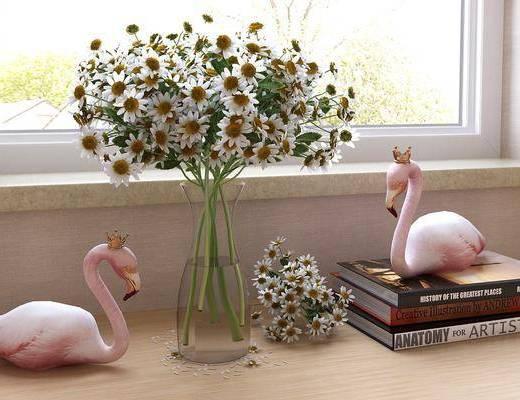 花草, 植物, 摆件组合, 装饰品