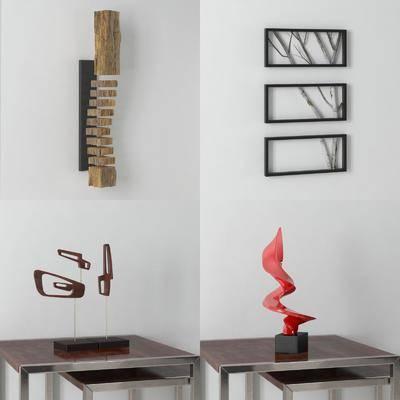 摆件组合, 摆件, 陈设品, 墙饰, 现代, 现代摆件组合, 双十一