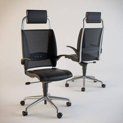 办公椅, 单椅, 升降, 现代