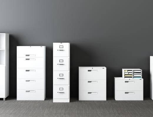 资料柜, 档案柜, 现代, 文件柜, 办公柜