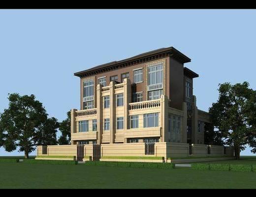 HBA公司, 公司, 现代, 建筑, 别墅