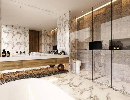 卫浴, 卫生间, 现代卫生间, 洗手台, 卫浴小件